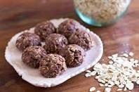 #Shakeology chocolate no-bake cookies! better than any granola/energy bar i've ever had! (made 12 1Tbsp.+ cookie balls):  1c. peanut butter ( i used chunky style) 1c. oatmeal ( i used maple brown and sugar instant oatmeal) 1/2c. honey optional: chopped nuts ( i used 1/4c. chopped pecans) 3 servings Shakeology chocolate  nutritional info (1 cookie ball): 244 calories 13.5g fat 2.25g saturated fat 0.25mg cholesterol 190mg sodium 195mg potassium 25g carbohydrates 4.5g fiber 14g sugar 10.8g…
