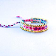 Swarovski Blue Purple Bracelet friendship bracelet by colordrop, $39.99