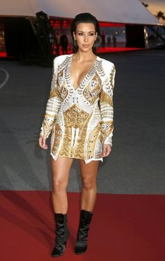Kim Kardashian Photos: Kim Kardashian and Kanye West Together at Cannes