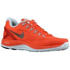 Nike LunarGlide + 4 - Women's - Running - Shoes - Bright Crimson/Blue Tint/Reflect Silver