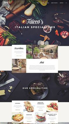 MGDP WEBsite layout & design Are these graphic design trends going out of style? Website Design Inspiration, Web Design Blog, Ux Design, Food Web Design, Web Design Websites, Minimal Web Design, Website Design Layout, Graphic Design Trends, Menu Design
