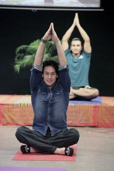 As part of celebrating the #InternationalDayOfYoga, #WWIStudents, #WWIFaculty and WWI Staff came together to knoe about the benefit of #Yoga. To celebrate the day, we had actor #TigerShroff and #KritiSanon, who visited us for the Yoga session and shared the importance of doing regular Yoga for a healthy mind and body, with our enthusiastic and eager students. @IntlDayofYoga