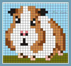 Tiny Cross Stitch, Cross Stitch Animals, Cross Stitch Patterns, Pixel Crochet, Crochet Cross, Pixel Art, Plastic Canvas Coasters, Diy Friendship Bracelets Patterns, Iron Beads