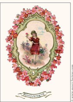 Carte joyeux anniversaire gros g teau rose pour envoyer for Envoyer fleurs par internet