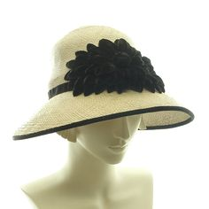 Downton Abbey Cloche Hat for Women - - size Large 1920s Fashion Hat