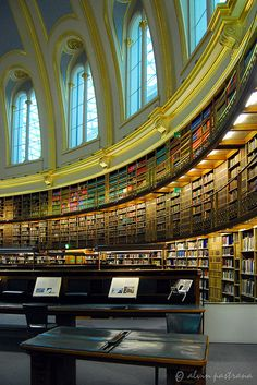 British Museum Reading Room (where I wrote the Doomsday Curse) by alvin pastrana, via Flickr