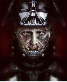 Anakin Skywalker as Darth Vader