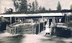 Lottakanttiini Lampilinna / Viihtyisin lottakanttiini kilpailun kuvasatoa vuodelta 1944.  #lottamuseo#lottasvärd#lottakanttiini