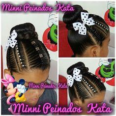 Black Kids Hairstyles, Girls Natural Hairstyles, All Hairstyles, Kids Braided Hairstyles, Flower Girl Hairstyles, Different Hairstyles, Little Girl Hairstyles, Natural Hair Styles, Children Hairstyles