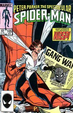 Peter Parker, The Spectacular Spider-Man # 105 by Tom Morgan & Brett…