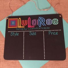 Hanging Chalkboard 2/3 boxes    *simply comfortable can be switched out to reflect consultant VIP page*  Select 2 or 3 box option -- in notes to