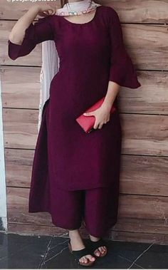 Indian Fashion Dresses, Pakistani Dresses Casual, Dress Indian Style, Pakistani Dress Design, Indian Outfits, Cotton Dress Indian, Punjabi Fashion, Muslim Fashion, French Fashion