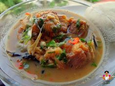 "Ofe Nsala ""Nsala soup"" served with Pounded yam     Nsala soup also known as "" Ofe Nsala "" by the igbos, "" Afia efere "" by the Calabar peo..."