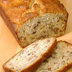 Banana Bread (Gluten Free) I used gluten free Bisquick and of course, mini choc. chips. Very good! :)