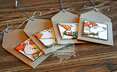MINI Envelope Gift Card Tags