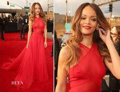 GRAMMYS 2013 favorite: love Rihanna's hair like this!