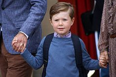 Christian of Denmark (Born 2005). Son of Crown Prince Frederick and Crown Princess Mary.