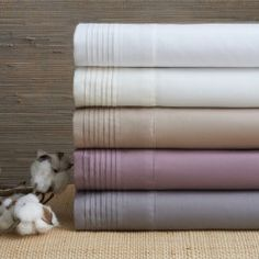 Portico Organic Cotton Genius Sheet Set Collection