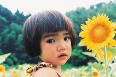 La niña y el fotógrafo… Kawashima Kotori (川岛小鸟).