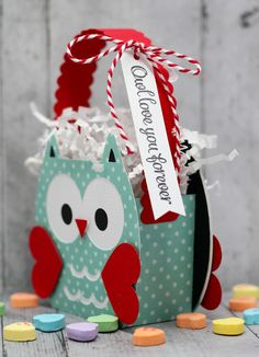 This and That: Owl love you forever owl box