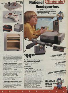 Nintendo ad #retrogaming #ads