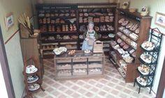 BAKERY bread cake shop dollhouse miniature