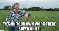 LETTERKENNY is one of the most popular Canadian comedy series who won the award for Best Comedy Series. The show stars Keeso and Nathan Dales as Wayne and Daryl, two friends living in the small tow… Letterkenny Quotes, Tv Show Quotes, Funny Quotes, Cross Quotes, Smile Quotes, Wisdom Quotes, Music Magazines, Film Music Books, Funny Images