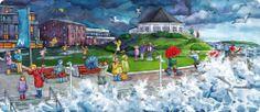 Praatplaat storm op de boulevard 2