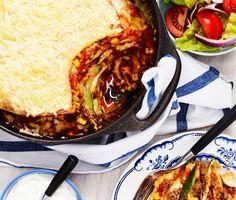 Tortillagratäng Swedish Recipes, Ratatouille, Squash, Zucchini, Ethnic Recipes, Food, Summer Squash, Gourd, Meals