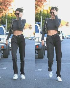 Kendall Jenner Outfits, Kendall And Kylie, Model Street Style, Models Off Duty, Basic Outfits, Celebrity Style, Style Inspiration, My Style, Brooklyn Baby