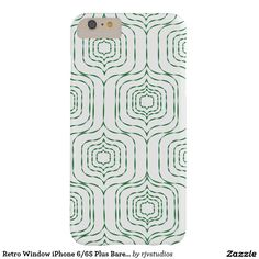 Retro Window iPhone 6/6S Plus Barely There - Green Barely There iPhone 6 Plus Case