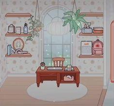 Free House Design, Create Your Own World, I Love School, Otaku Room, Anime Wolf Girl, Funny Picture Jokes, Minecraft Designs, Mini Games, Aesthetic Bedroom