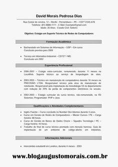 Cv Del Minimalist Del Vectorplantilla Del Curriculum Vitae Versin