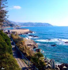 Veduta panoramica della costa da Sant'Ampelio