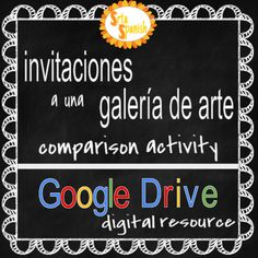 Students will view 12 different invitations from several different countries. They will then choose three invites to look at more closely and make comparisons between them. You can choose before giving the assignment if you want them to answer the prompts in Spanish, or English.