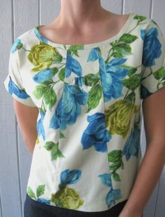 space and thyme, Lisette pattern 2245 with a bias band neckline instead of original finish