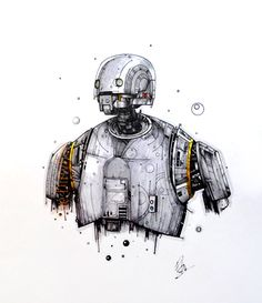 K-2SO by The Dirty Pen