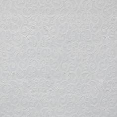York Wallcoverings Flared Scroll Paintable Wallpaper - White White/Off Whites - The Savvy Decorator White Textured Wallpaper, Unique Wallpaper, Contemporary Wallpaper, White Wallpaper, Paintable Wallpaper, Kitchen Wallpaper, Grey Ceiling, Drops Patterns, Vinyl Paper