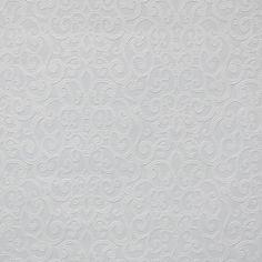 York Wallcoverings Flared Scroll Paintable Wallpaper - White White/Off Whites - The Savvy Decorator Unique Wallpaper, Contemporary Wallpaper, White Wallpaper, Paintable Wallpaper, Kitchen Wallpaper, Iphone Wallpaper, Grey Ceiling, Designer Wallpaper, Wallpaper Designs