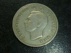 EN.aug 1944 TWO Shillings silver coin  condition used nr287 Silver Coins, Conditioner, Ebay, Silver Quarters