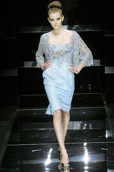 Elie Saab Spring 2008 Couture Fashion Show - Michelle Alves