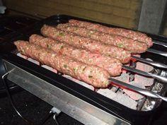 Bbq Grill, Barbecue, Grilling, Bbq Skewers, Kebabs, Kamado Bbq, Sausage, Pork, Meat