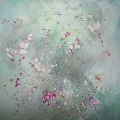 Laurence Amelie Floral Painting | Rachel Ashwell Shabby Chic Couture