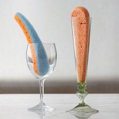 wine glass sponge