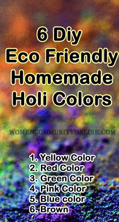 Green Colors, Pink Color, Holi Colors, Online Blog, Happy Holi, Color Powder, Home Remedies, Celebrations, Eco Friendly