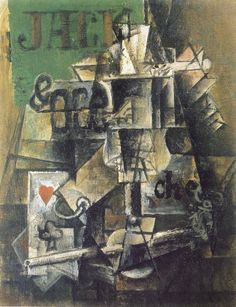 Pablo Picasso, Absinth and Cards, 1912,