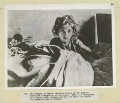 The tragedy of Jewish children locked in the ghettos... a Jewish girl. - NYPL Digital Collections