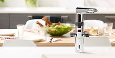 New Oras faucets - Easy to use, Ecological, Safe. Smart included.