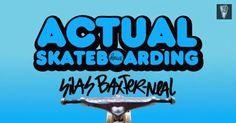 MARTIRIO skateboards: SILAS BAXTER NEAL / ACTUAL SKATEBOARDING / KRUX TR... #skate #skateboarding