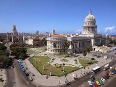 Por los alrededores del kilómetro cero de La Habana
